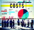 Costs Budget Finance Financial Issues Business Concept Royalty Free Stock Photo