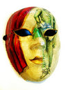 Costume mask Royalty Free Stock Image