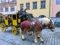 Kostýmovaných zverejniť posádka na norimberg ulice