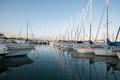 Cote d'Azur marina Royalty Free Stock Photo