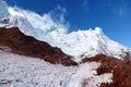 Cotopaxi glacier of in ecuador Stock Photo