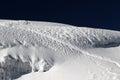 Cotopaxi glacier of in ecuador Royalty Free Stock Photo