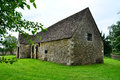Cotswold stone barn Stock Photos