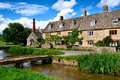 Cotswold stone cottages Stock Images