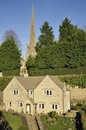 Cotswold stone house Royalty Free Stock Photos