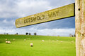 The Cotswold Way Royalty Free Stock Photography