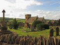 Cotswolds village Royalty Free Stock Photo