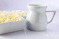 Cottage cheese Royalty Free Stock Photography