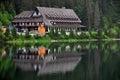 Chata pri jazere