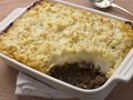 Cottage Pie in a Dish Royalty Free Stock Images