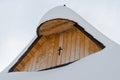 Cottage roof in vlkolinec