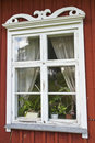 Cottage window Royalty Free Stock Photography