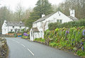 Cottages dans cumbria Photographie stock