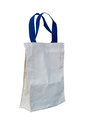 Cotton bag on white backgroung Royalty Free Stock Image