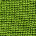 Cotton bristles green towel background for Royalty Free Stock Photos