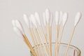 Cotton bud Stock Images