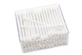 Cotton buds in box Royalty Free Stock Images