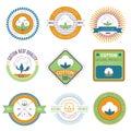 Cotton emblems.