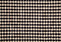 Cotton fabric with patchwork design texture overlapping strips background a cloth weaving Royalty Free Stock Images