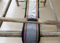Cotton handicraft thai strict handmade Royalty Free Stock Image