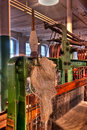 Cotton Mill Equipment Royalty Free Stock Photo