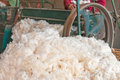 Cotton mill at thailand Stock Photos