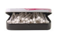 Cotton sticks in box Stock Photography