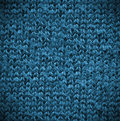 Cotton texture macro blue of a Royalty Free Stock Photo