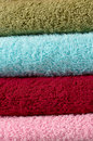Cotton towels Royalty Free Stock Photos