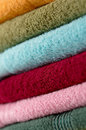 Cotton towels Royalty Free Stock Image