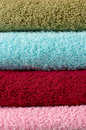 Cotton towels Royalty Free Stock Photo