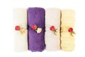 Cotton towels Royalty Free Stock Photography