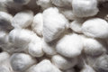 Cotton wool balls background image of shot close up Stock Photography