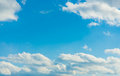 Cottony cloud and blue sky on a sunny day this is the Royalty Free Stock Photo