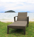 Couch on Mark Island Beach Royalty Free Stock Photo