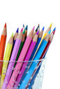 Couleur de crayon Photo libre de droits