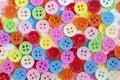 Couleur multi des boutons Image libre de droits