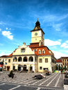 Council square from brasov city one of the landmarks of brasov Royalty Free Stock Photos