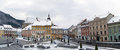 The Council Square (Piata Sfatului) Brasov, Transylvania Royalty Free Stock Photo