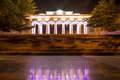 Count s pier in sevastopol at night ukraine Stock Photo