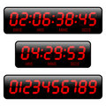 Countdown timer Royalty Free Stock Photo