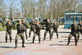 Counter terrorist show kherson ukraine april anti special units their skills at the on april in kherson ukrainian special units Royalty Free Stock Photos