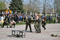 Counter terrorist show kherson ukraine april anti special units their skills at the on april in kherson ukrainian special units Stock Images