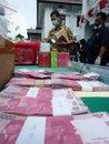 Counterfeit money Royalty Free Stock Photo