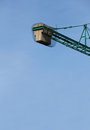 The counterweight of a construction crane, detail Royalty Free Stock Photo
