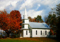 Country Church Royalty Free Stock Photo