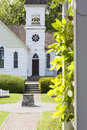 Country church at summer day Royalty Free Stock Photos