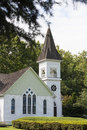Country church at summer day Royalty Free Stock Image
