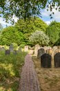 A Country Churchyard Royalty Free Stock Photo