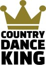 Country dance king Royalty Free Stock Photo